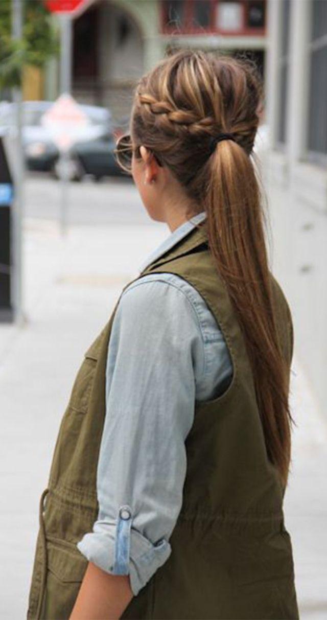 Прически на каждый день - 10 модных вариантов простого хвоста