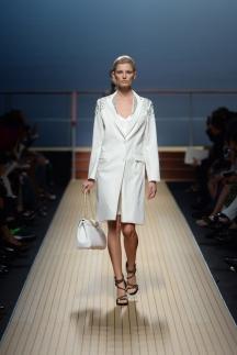 Длинный модный пиджак Ermanno Scervino 2014