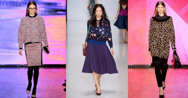 Мода однозначно пошла на удлинение, сначала модная длина юбок ниже колена, затем длинное пальто, теперь и модные кофты