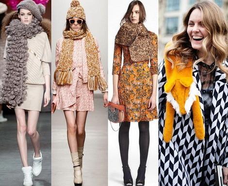 Модные шарфы 2014 (фото)