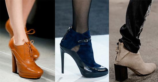 Ботильоны - модная обувь 2014