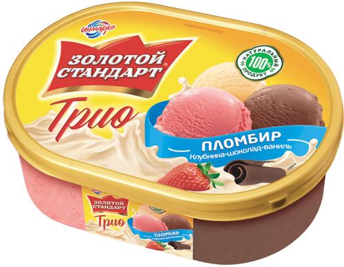 Мороженое золотой стандарт