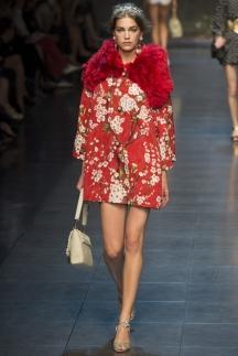 Dolce_&_Gabbana меховая одежда