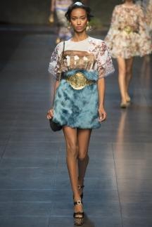 Меховая юбка Dolce_&_Gabbana