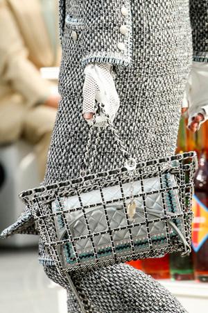 Модная сумка осень-зима 2014-2015 – сумка в виде корзинки – Chanel