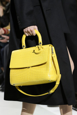 Очень красивая желтая модная сумка 2015 – Christian Dior