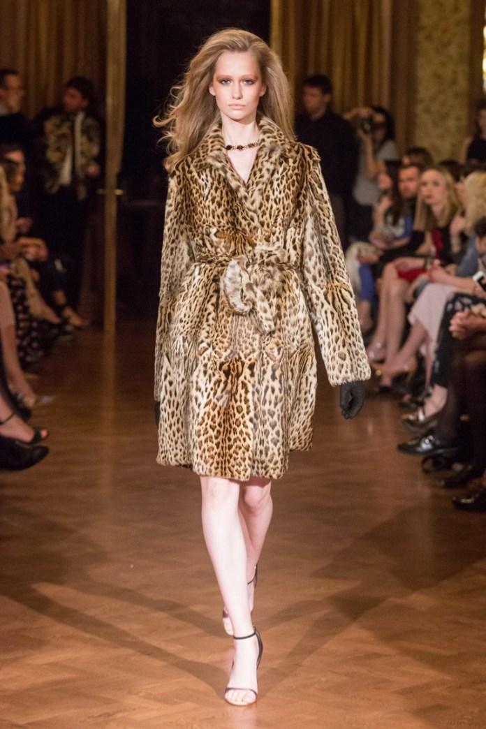 Леопардовая верхняя одежда от Alexander Terekhov
