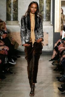 Черно-серый модный пиджак осень-зима 2014-2015 – Emilio Pucci