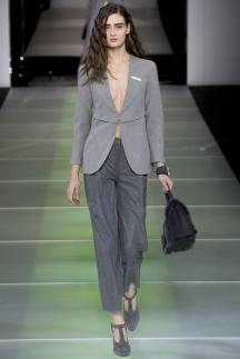 Модный серый пиджак осень-зима 2014-2015 – Giorgio Armani