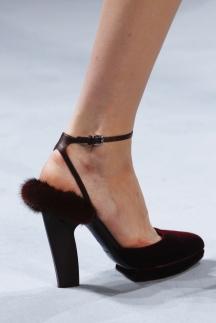 Модные туфли с мехом осень-зима 2014-2015 – Nina Ricci