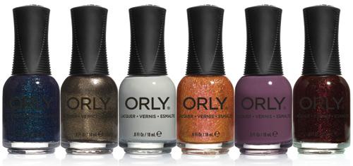 Коллекция лаков для ногтей SMOKY от корпорации ORLY