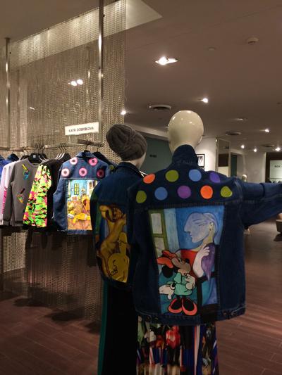KATЯ DOBRЯKOVA презентовала корнер своего бренда в Saks Fifth Avenue