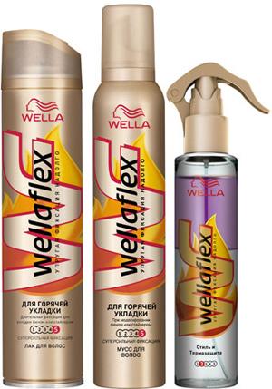 Коллекция Wellaflex «Для горячей укладки»