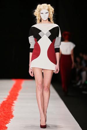 Mercedes-Benz Fashion Week Russia, DIMANEU, коллекция «Юка»