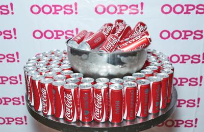 Coca-Cola представила новую упаковку с эмоциональными посланиями, такими как «Я ♥ тебя», «Навсегда», «Моя», «Вместе», «Ты лучший» и «Ты мне  »