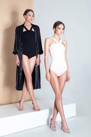 Черный и белый купальники мода лето 2015 - Daria Bardeeva