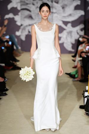 Свадебное модное платье 2015 Carolina Herrera
