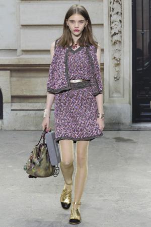 Костюм Chanel весна лето 2015