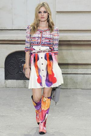 Жакет болеро Chanel весна лето 2015