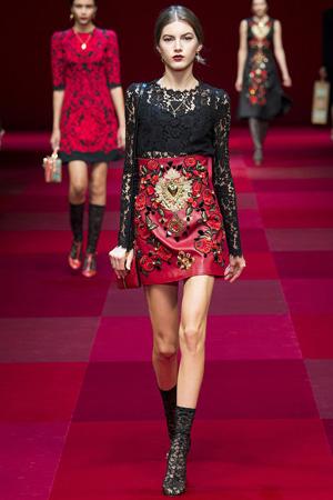 Коллекция одежды 2015 Dolce & Gabbana