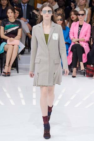 Куртка пальто Christian Dior весна лето 2015