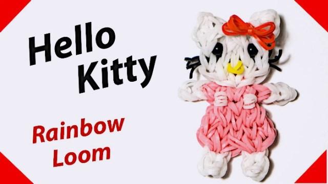 Hello Kitty из резинок