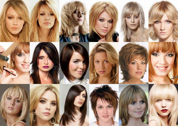 Красивые модные стрижки на волосы средней длины