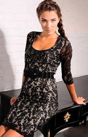 Фото кружевных платьев