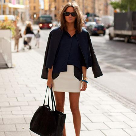 Фото мини юбок – с чем носить мини юбки