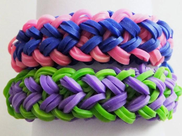 Схемы плетения из резиночек на рогатке