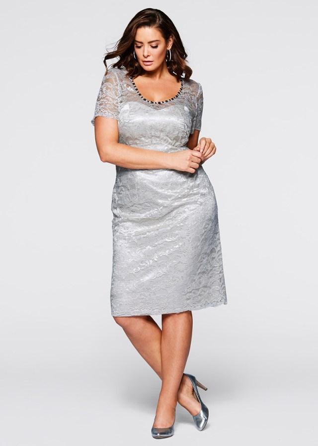 Кружевные платья Plus Size