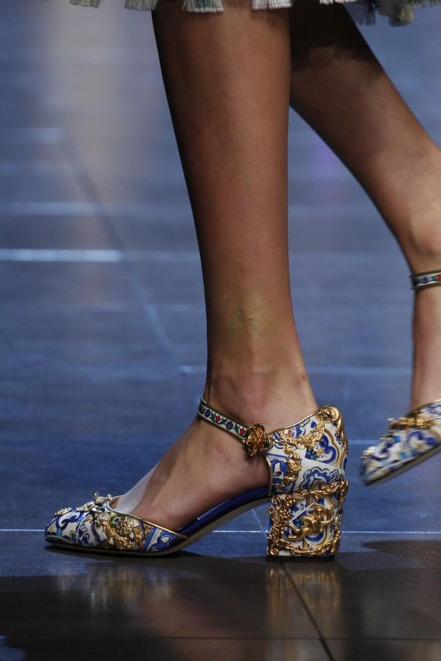 Модные туфли – новинка обуви 2016 – фото Dolce & Gabbana