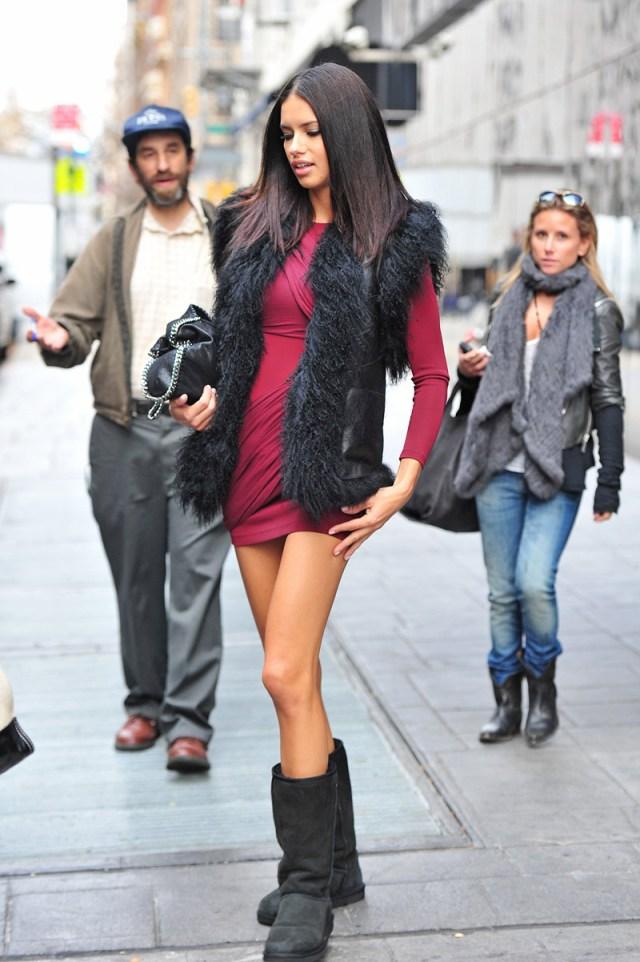 Модные сапоги угги – фото новинки года