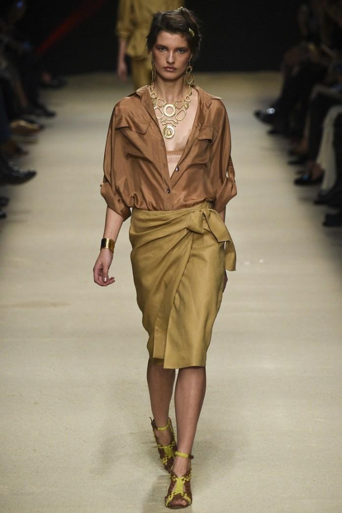 Модный фасон юбки 2016 года – фото новинка от Alberta Ferretti