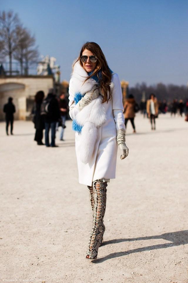 Белое кашемировое пальто новинка сезона фото
