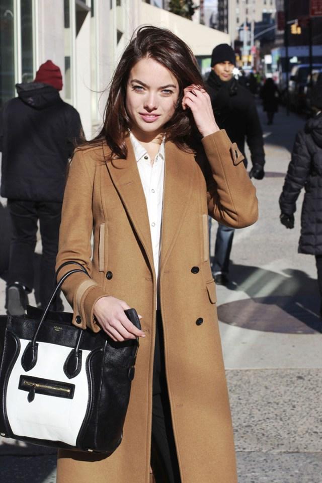 Модное пальто кашемир фото новинка сезона