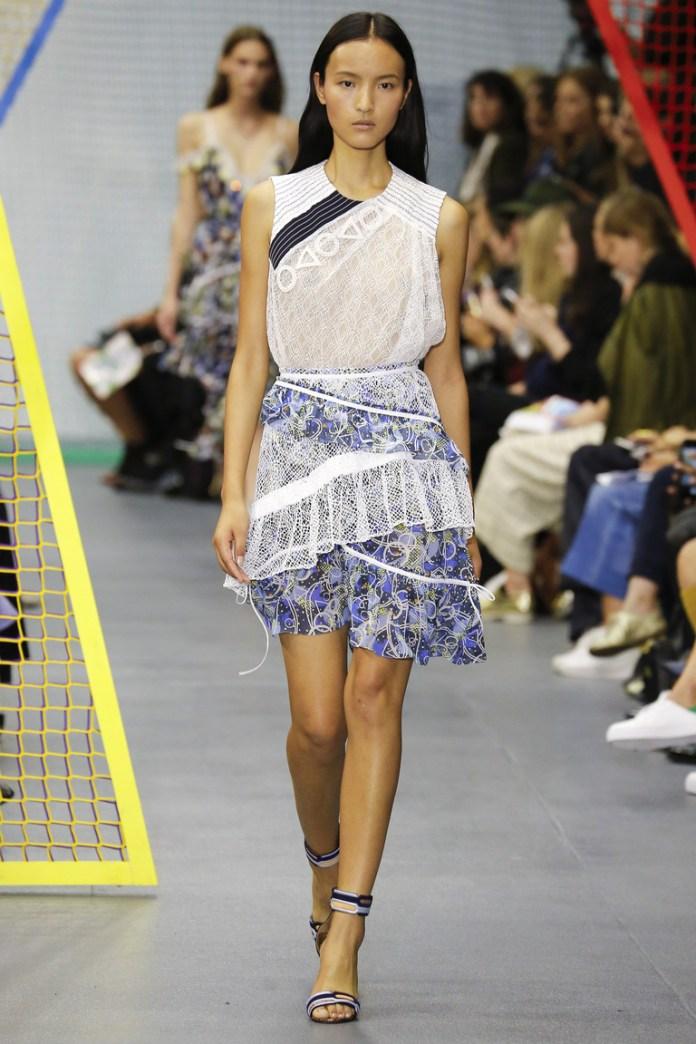 Короткая модель юбки 2016 – фото новинка от Peter Pilotto