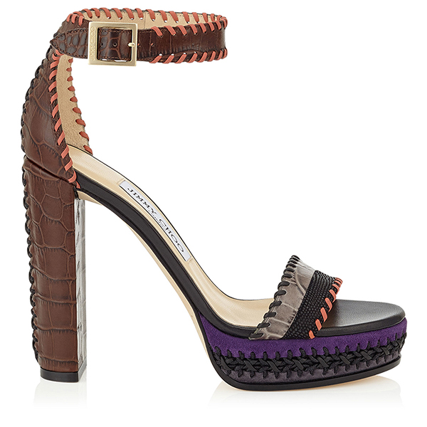 Еще один вид необычного каблука на туфлях новой коллекции Jimmy Choo