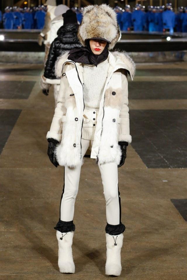 Moncler Grenoble осень-зима 2016-2017 на Неделе моды в Нью-Йорке