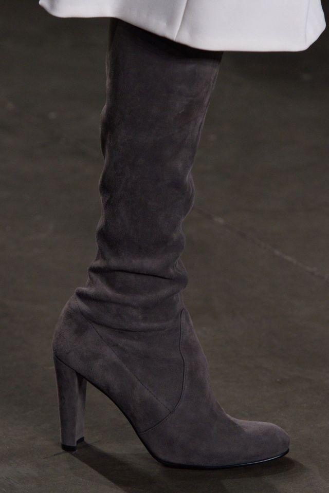 Модные сапоги Pamella Roland на неделе моды осень-зима 2016-2017
