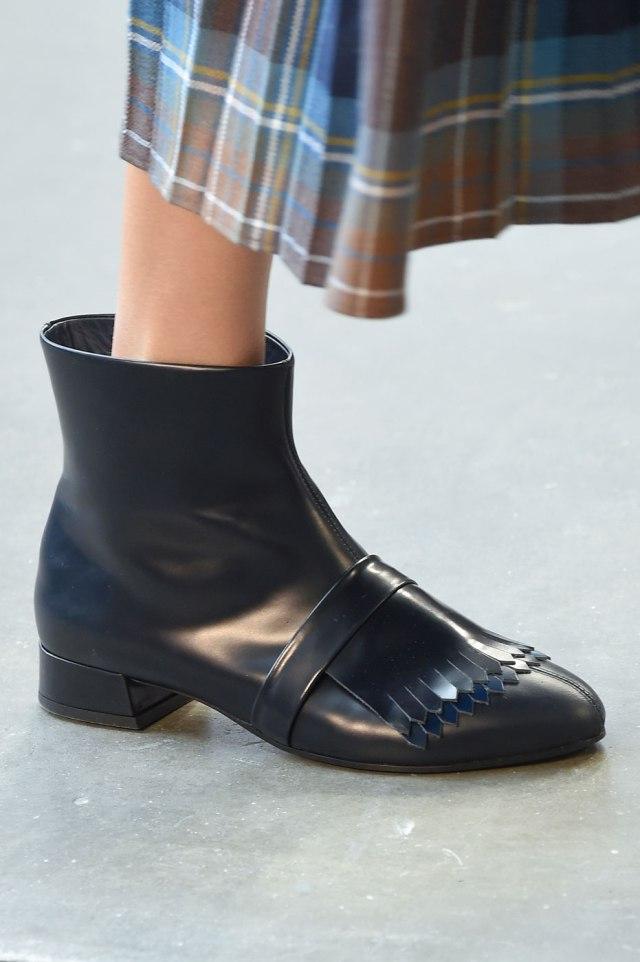 Модная обувь Suno на неделе моды осень-зима 2016-2017