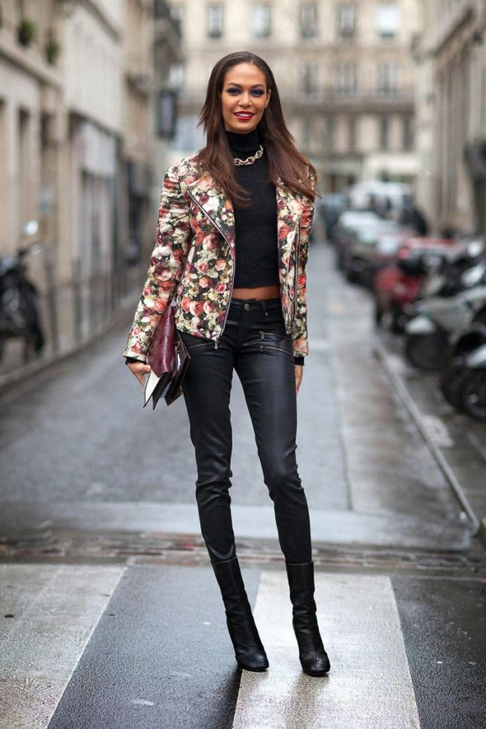 Цветная куртка косуха – тренд сезона