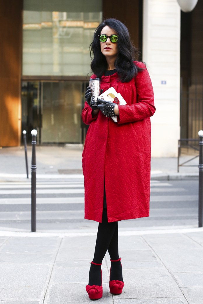 В этом сезоне в моде свободные модели пальто оверсайз
