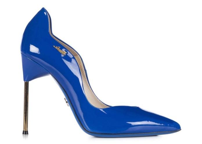 Роскошные синие туфли в новой коллекции Loriblu – фото новинки и тренды сезона