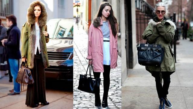 Фото новинки и тенденции: самые модные модели курток парка