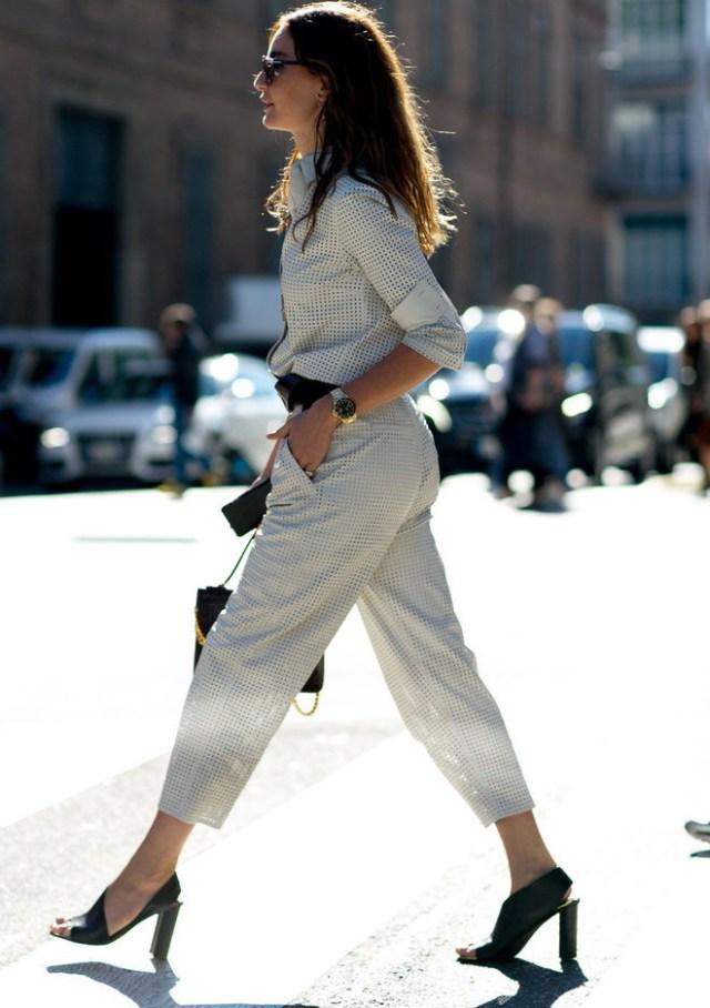 Тренды уличной моды весны и лета 2016 – модели модных брюк и варианты сочетания ulichnay-moda-Milan-vesna-2016-4