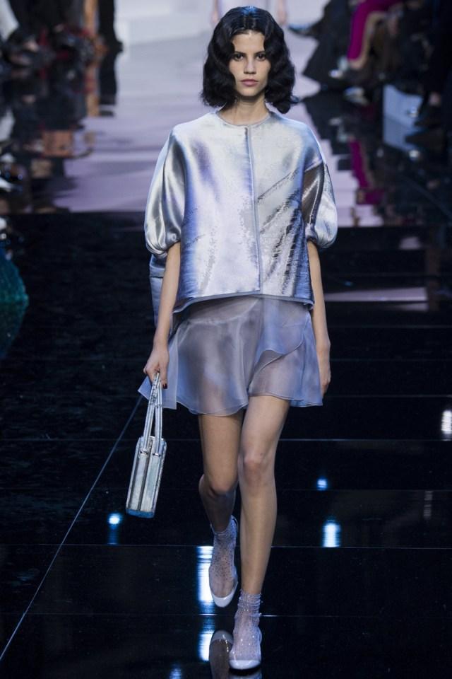 Мода весны 2016 из коллекции Armani Privé.