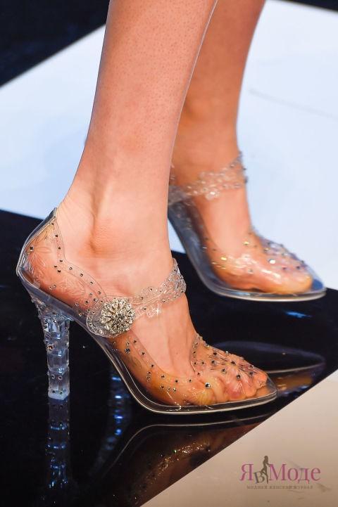 Новинка сезона: прозрачные туфли DOLCE & GABBANA