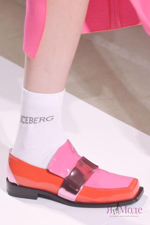 Новинка – туфли в коллекции ICEBERG на неделе моды в Милане