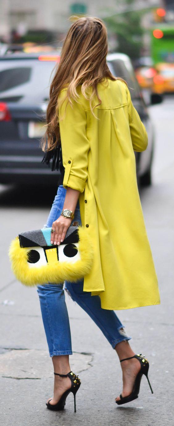 Салатовое ультрамодное пальто весны 2016 – фото новинки и тренды сезона